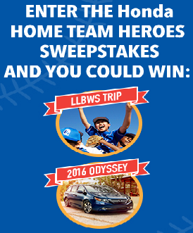 Honda-Sweepstakes