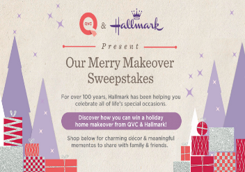 Qvc Hallmark Present Our Merry Makeover Sweepstakes Win A