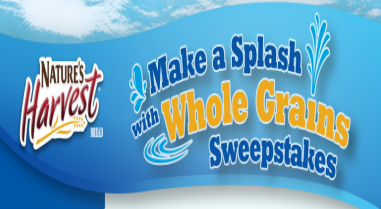 Nature's Harvest Make a Splash with Whole Grains Instant Win