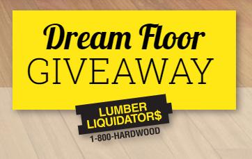 Lumber Liquidators Dream Floor Giveaway – Win $5,000 worth of ...