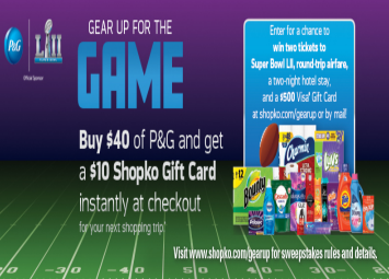 Gameface sweepstakes and contests