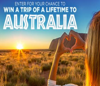 Win a trip to australia sweepstakes