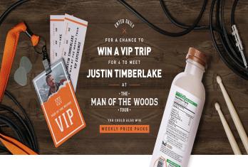 """Bai """"Justin Timberlake Concert Getaway"""" Sweepstakes – Win a"""