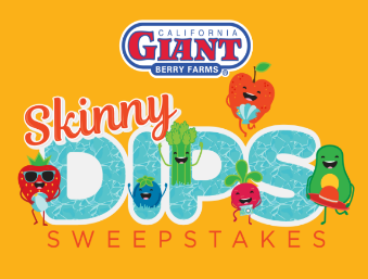 California Giant Berry Farms Skinny Dips Sweepstakes – Win a