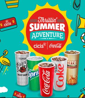 Coca-Cola Thrillin' Summer Adventure Sweepstakes & IWG – Win