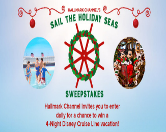 Happy holidays sweepstakes disney channel