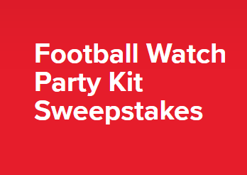 Coca-Cola Football Watch Party Kit Sweepstakes – Win 65 inch