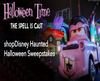 Halloween sweepstakes 2018