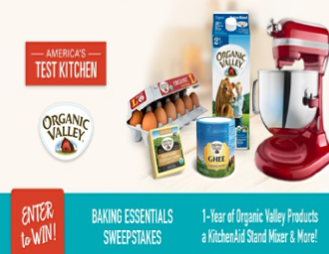 win a KitchenAid mixer   Sweepstakes in Seattle