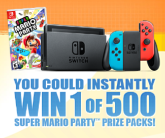 Video game giveaway sweepstakes
