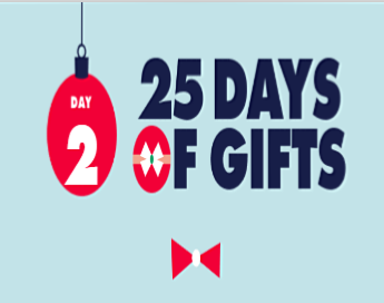 Freeform 25 Days of Gifts Sweepstakes – Win $25,000 and a
