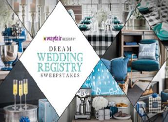 HGTV Dream Wedding Registry Sweepstakes – Win a $2,500
