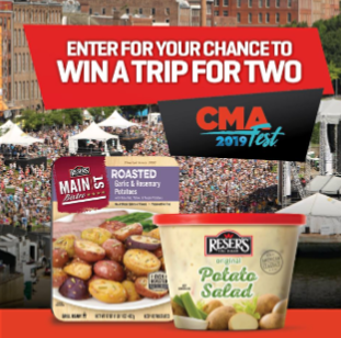 Reser's CMA Fest Sweepstakes & IWG – Win a trip to Nashville