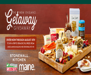 Stonewall Kitchen New England Getaway Giveaway – Win a trip ...