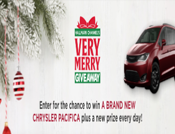 Hallmark Christmas Contest 2020 Hallmark Channel's Very Merry Giveaway – Win a 2020 Chrysler