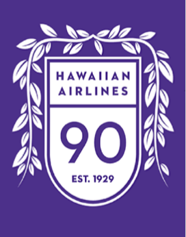 """Image result for hawaiian airlines 90TH Anniversary Logo"""""""